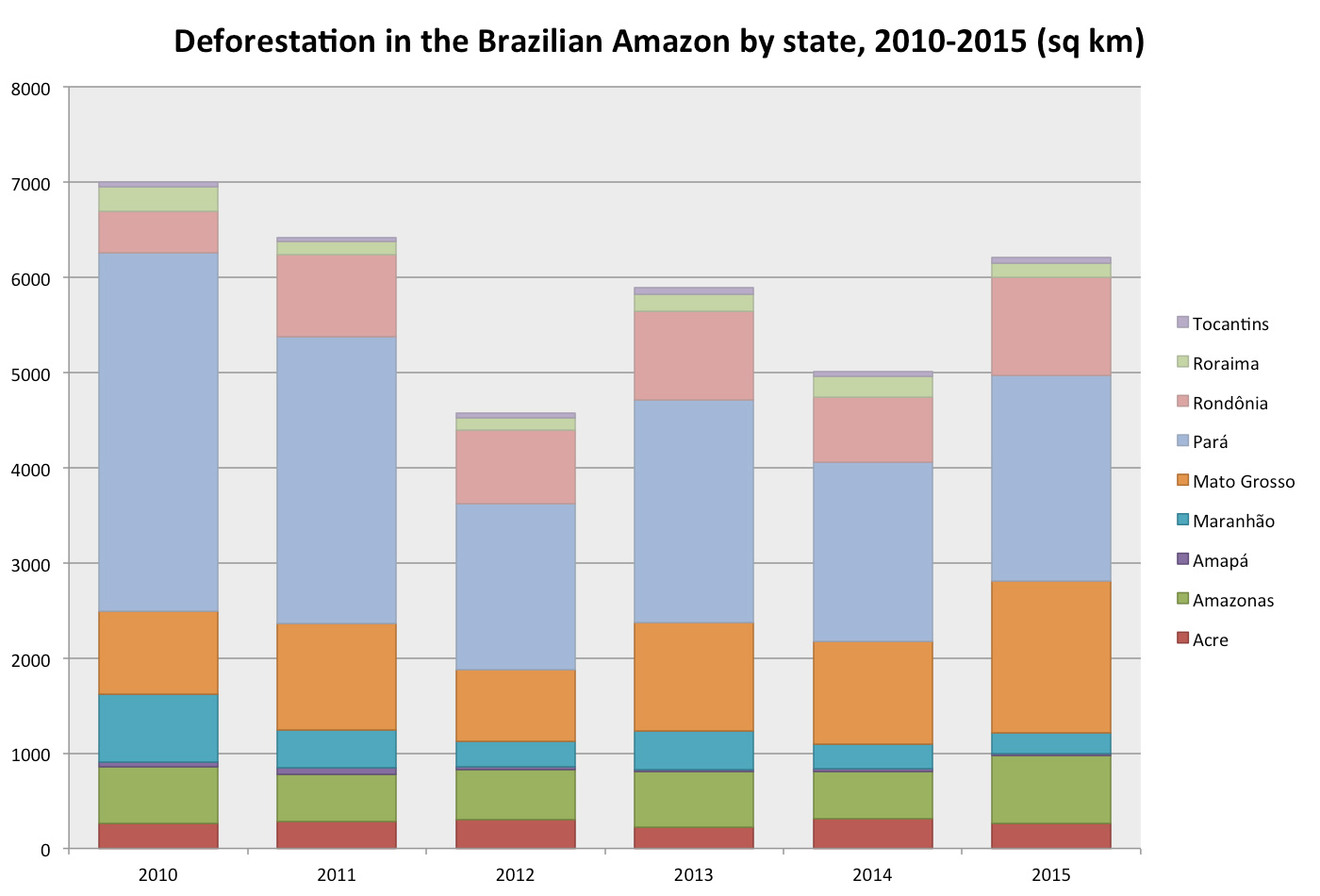 Deforestation and the Climate Cycle