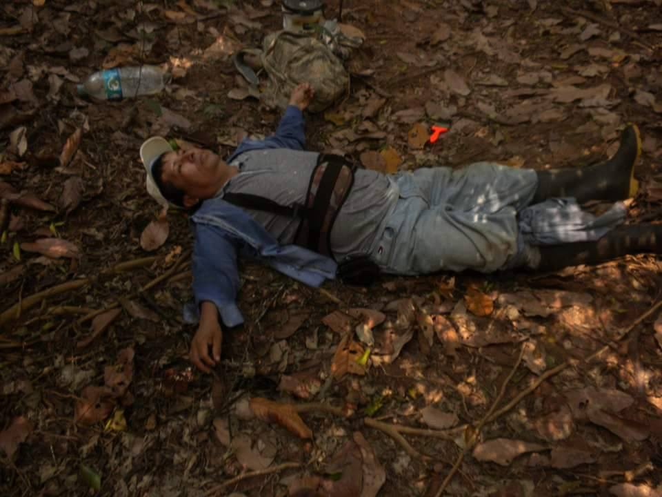 peruvian-conservationist-wounded-by-the-trap