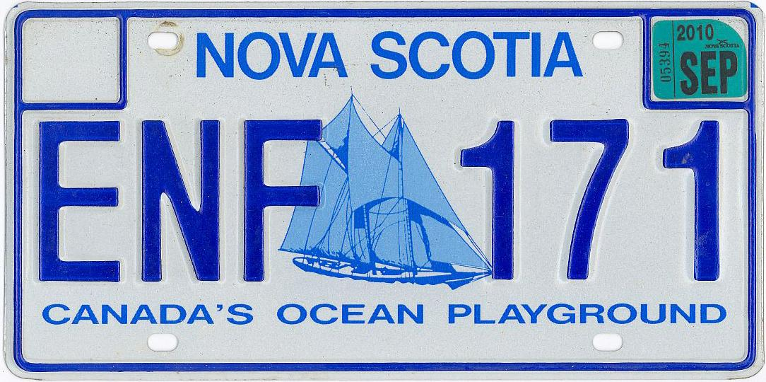 It was easy to see that Bilcon faced an up-hill battle from the start, claim the experts, by potentially threatening Nova Scotia's pristine marine ecosystems along the Digby Neck. Nova Scotia's pride in its environment, in particular marine habitats, is robust — as witnessed by the province's license plates. Photo compliments NS archives