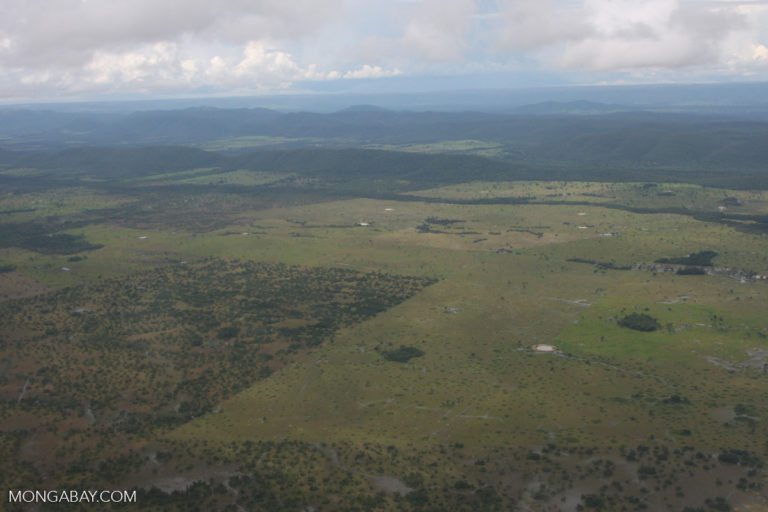 Cleared land for agriculture in the Cerrado. Photo by Rhett A. Butler