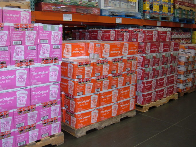 boxes_of_nissin_cup_noodles_on_pallets_at_costco_ssf_ecr