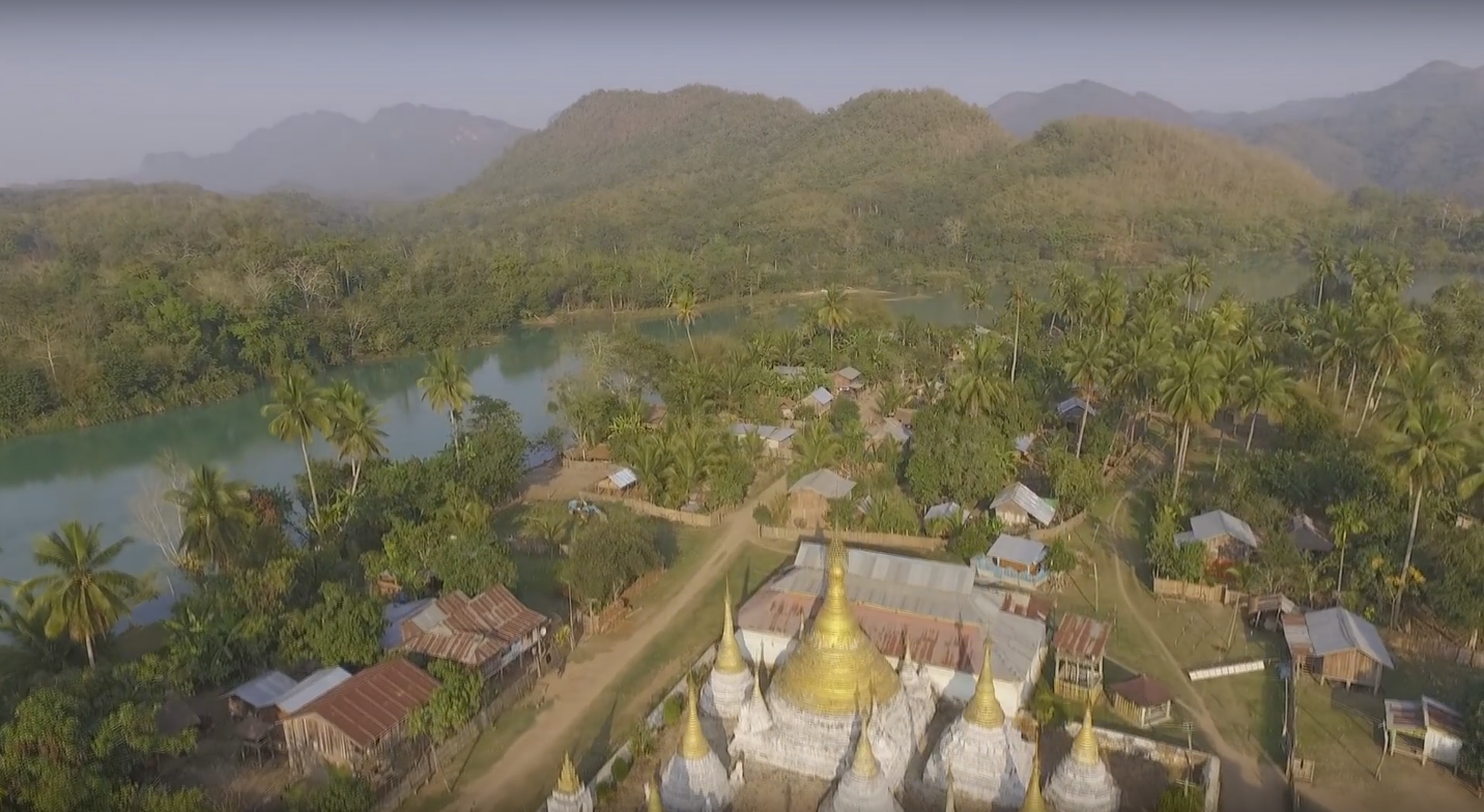 "The Keng Kham temple is immensely significant to local Shan people and an important part of their cultural heritage. According to local villagers it was built before World War II, when individual Shan states were were ruled by ""sawbwas."" Image courtesy of Action for Shan State Rivers."