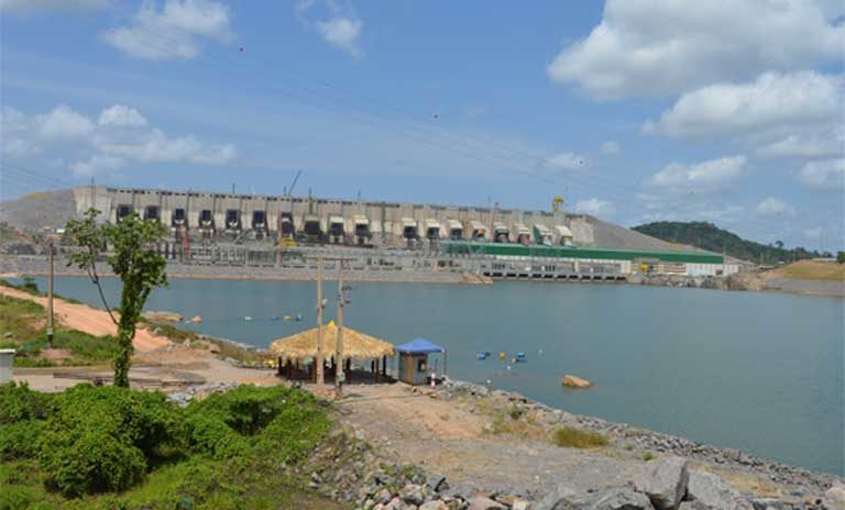 The completed Belo Monte dam. Its builders have been accused of ethnocide. Photo by Zoe Sullivan