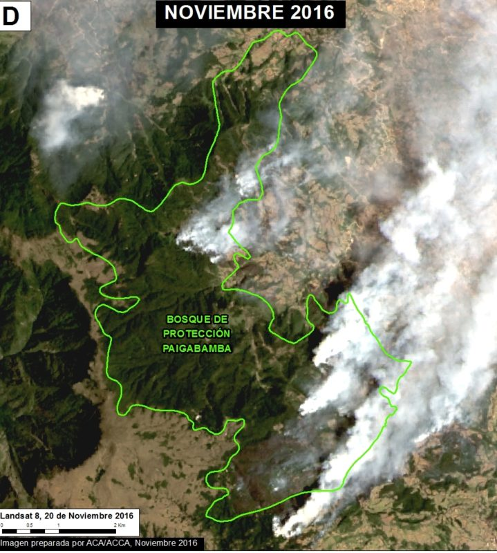 Image courtesy of MAAP - Data: SERNANP, USGS/NASA