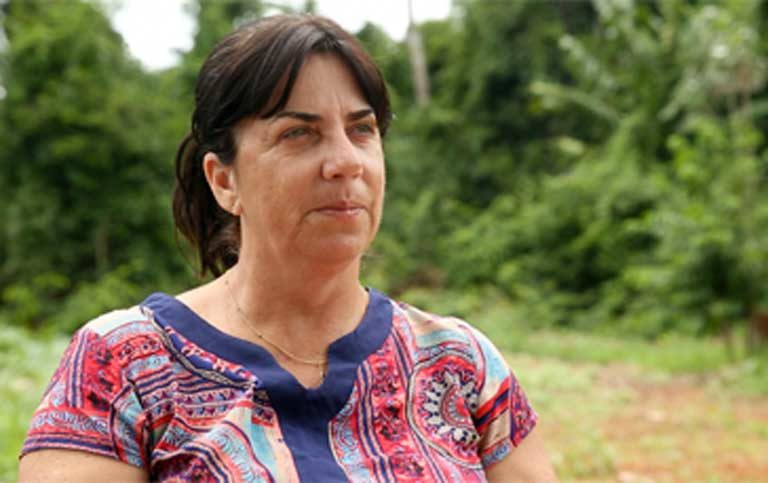 Mato Grosso State University professor Solange Arrolho. Photo by Thais Borges