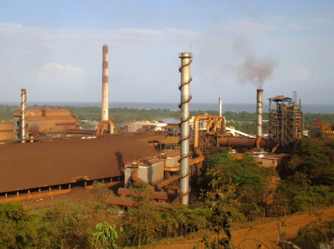 The Fenix ferro-nickel mining project operated for a few years in the late 1970s. The Solway Group, the Russian conglomerate that now owns the project, started up operations again in 2014. Photo by Sandra Cuffe for Mongabay.