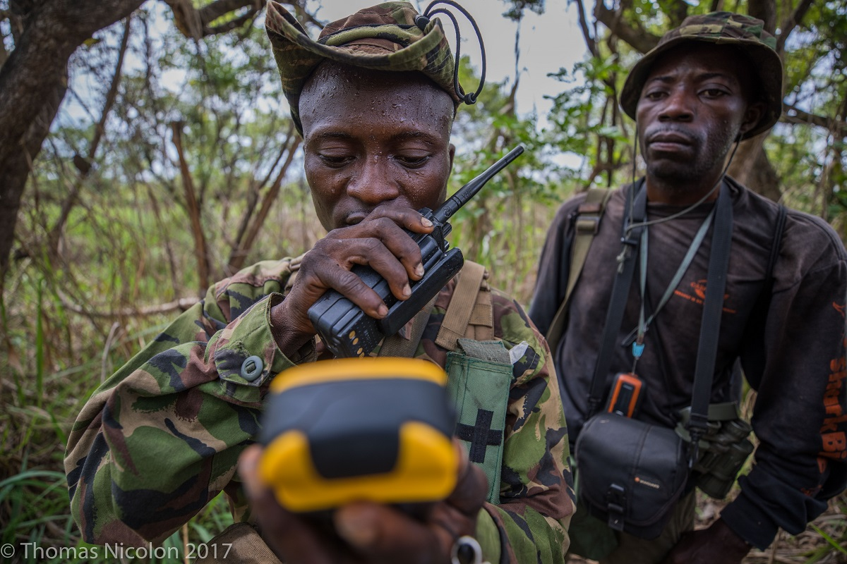 Park rangers in Garama National Park. Photo by Thomas Nicolon for Mongabay.