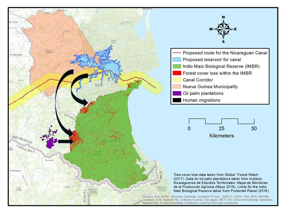 Unveiled: The unraveling of Nicaragua's Indio Maíz ... on map of pearl lagoon nicaragua, map of masaya nicaragua, map of managua nicaragua, map of tola nicaragua, map of mulukuku nicaragua, map of diriamba nicaragua, map of san juan del sur nicaragua, map of bluefields nicaragua,