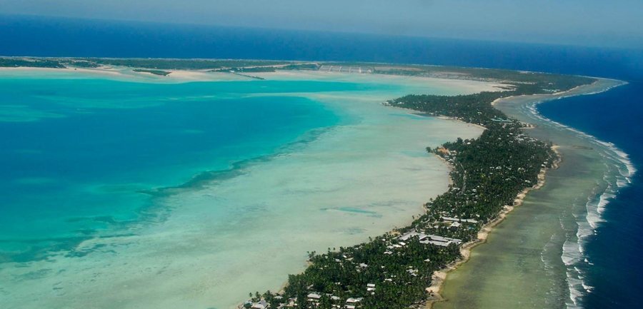 how is kiribati coping with climate change