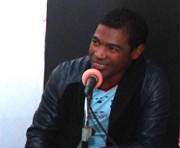 As a radio journalist in southern Madagascar, Fernand Cello has worked to expose environmental crimes and corruption. Photo courtesy of Fernand Cello.