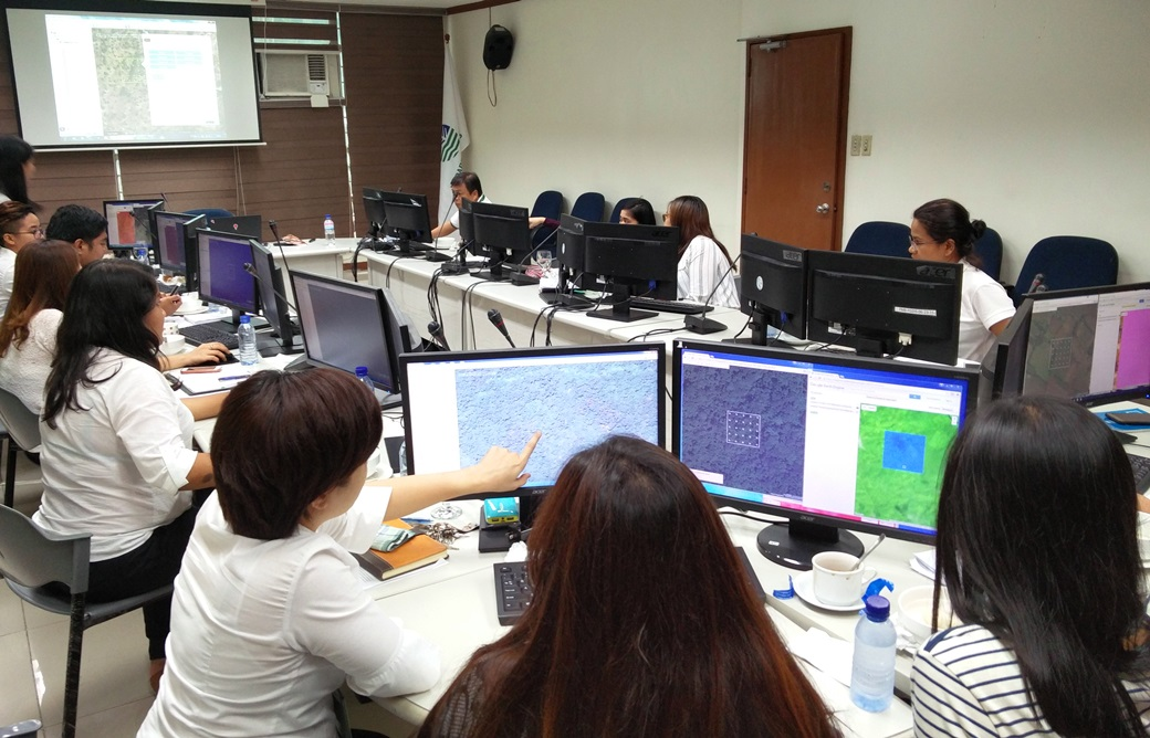Collect Earth training at the Department of Environmental Resources in the Philippines.
