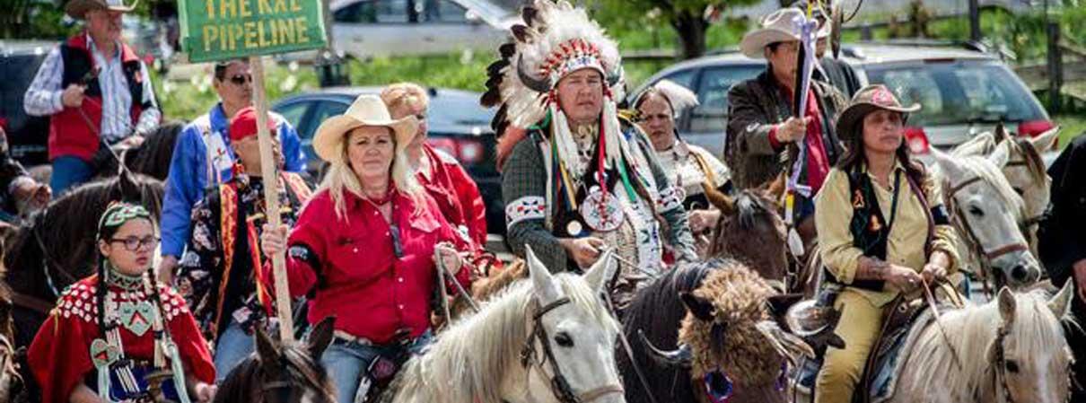 Alliance Of The Bear Native Groups Stymie Trump Tar Sands