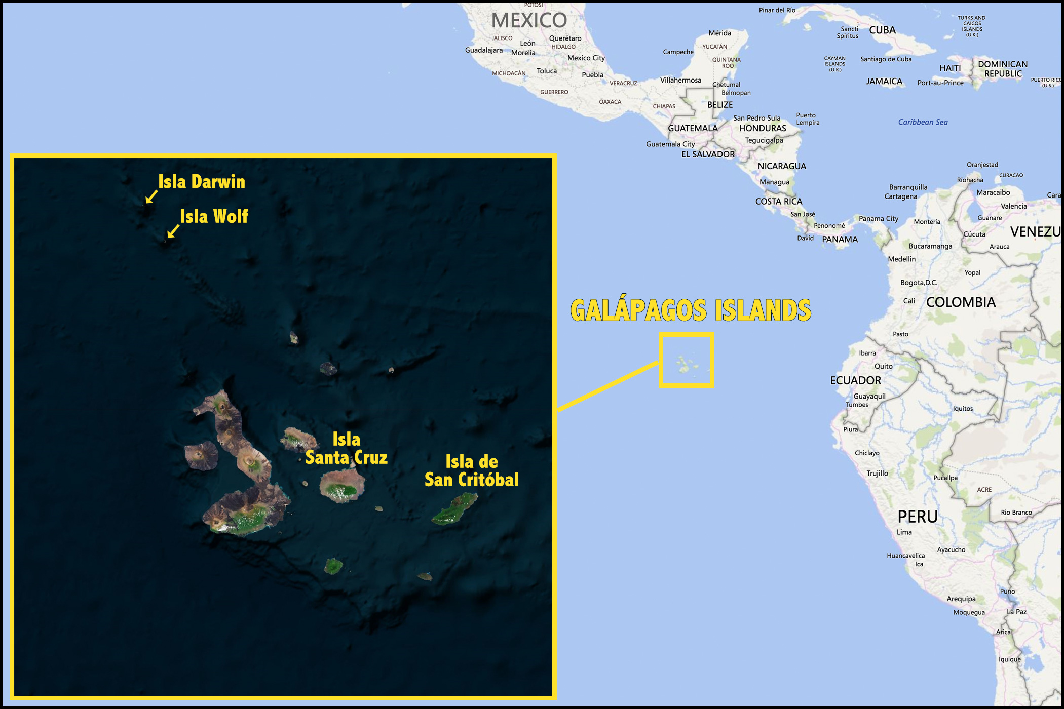 galapagos-map Galapagos Map on puerto ayora, pinta island, amazon map, puerto baquerizo moreno, yucatan peninsula map, brazilian highlands map, cuba map, oman map, isabela island, bahamas map, lesser antilles map, ha long bay, genovesa island, puerto rico map, charles darwin research station, nameless island, greenland map, galapagos national park, cape horn map, strait of magellan map, patagonia map, japan map, darwin island, ecuador map, bay of fundy, pampas map, canada map, tierra del fuego map, pacific map, fernandina island, baltra island, lake titicaca map, floreana island, falklands map,