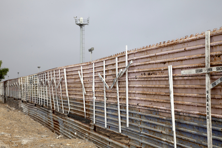 Border wall in Tijuana, Mexico. Photo by Rurik List.