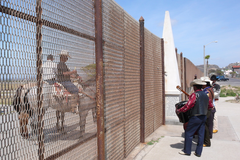 The border fence in Tijuana, Mexico. Photo by Rurik List.