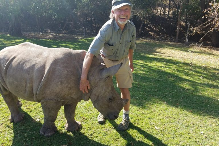 Volunteering on the front lines of rhino conservation