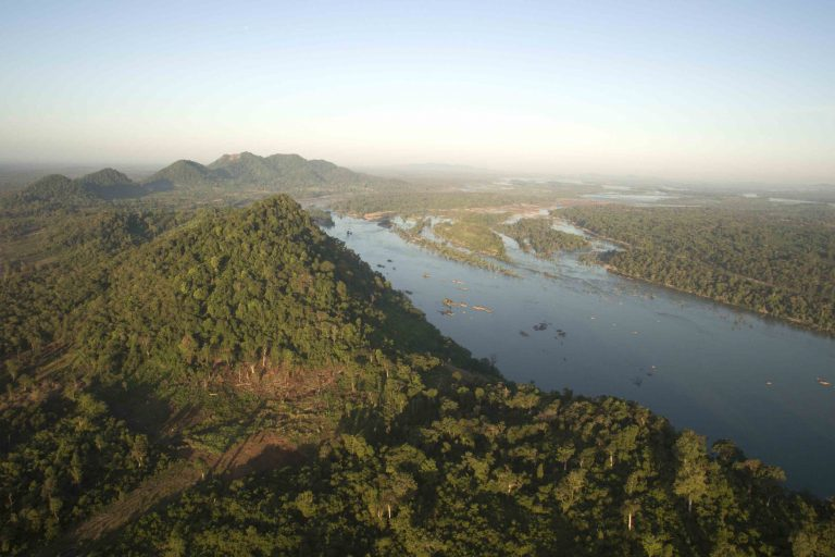 Mekong River landscape. Image by WWF-Cambodia.