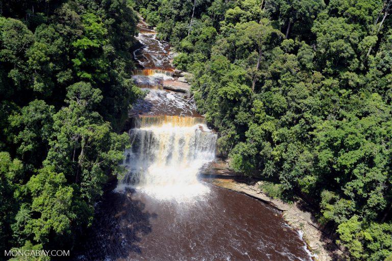 Waterfall in Maliau Basin, Sabah, Malaysia. Photo by Rhett A. Butler.