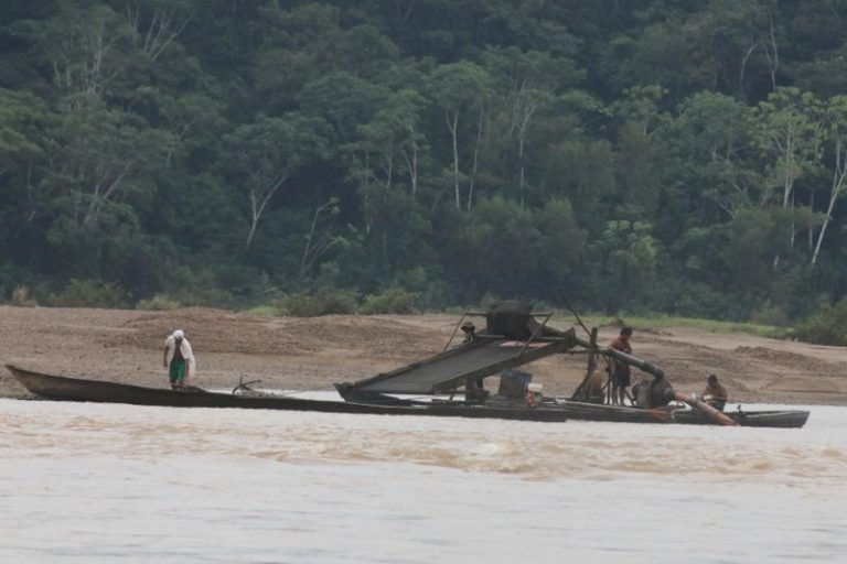 The rivers in the Madre de Dios Region have been contaminated by mercury because of illegal mining. Photo by Rhett Butler for Mongabay.