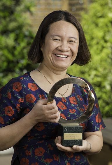Khanh Nguy Thi. Photo courtesy Goldman Environmental Prize.
