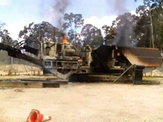 Papua New Guinea landowners take up arms against natural gas