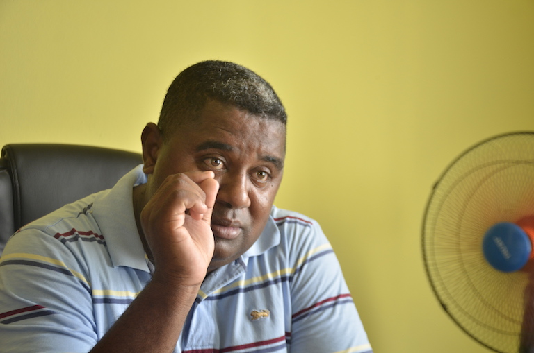 "Christian Pierre Ratsimbazafy, director of the environment ministry's Atsinanana branch, said Ambatovy operates legally and responsibly. ""I call on the population not to fall into the trap of rumors"" about the mine facilities' supposed health and environmental effects, he told Mongabay. Image by Riana Raymonde Randrianarisoa for Mongabay."