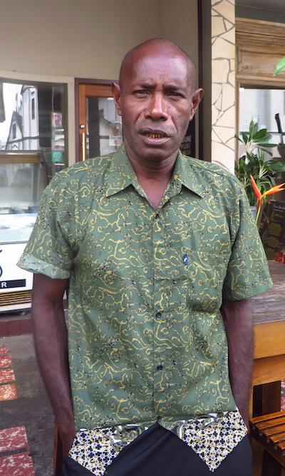 John Aini. Image by Basten Gokkon/ Mongabay.