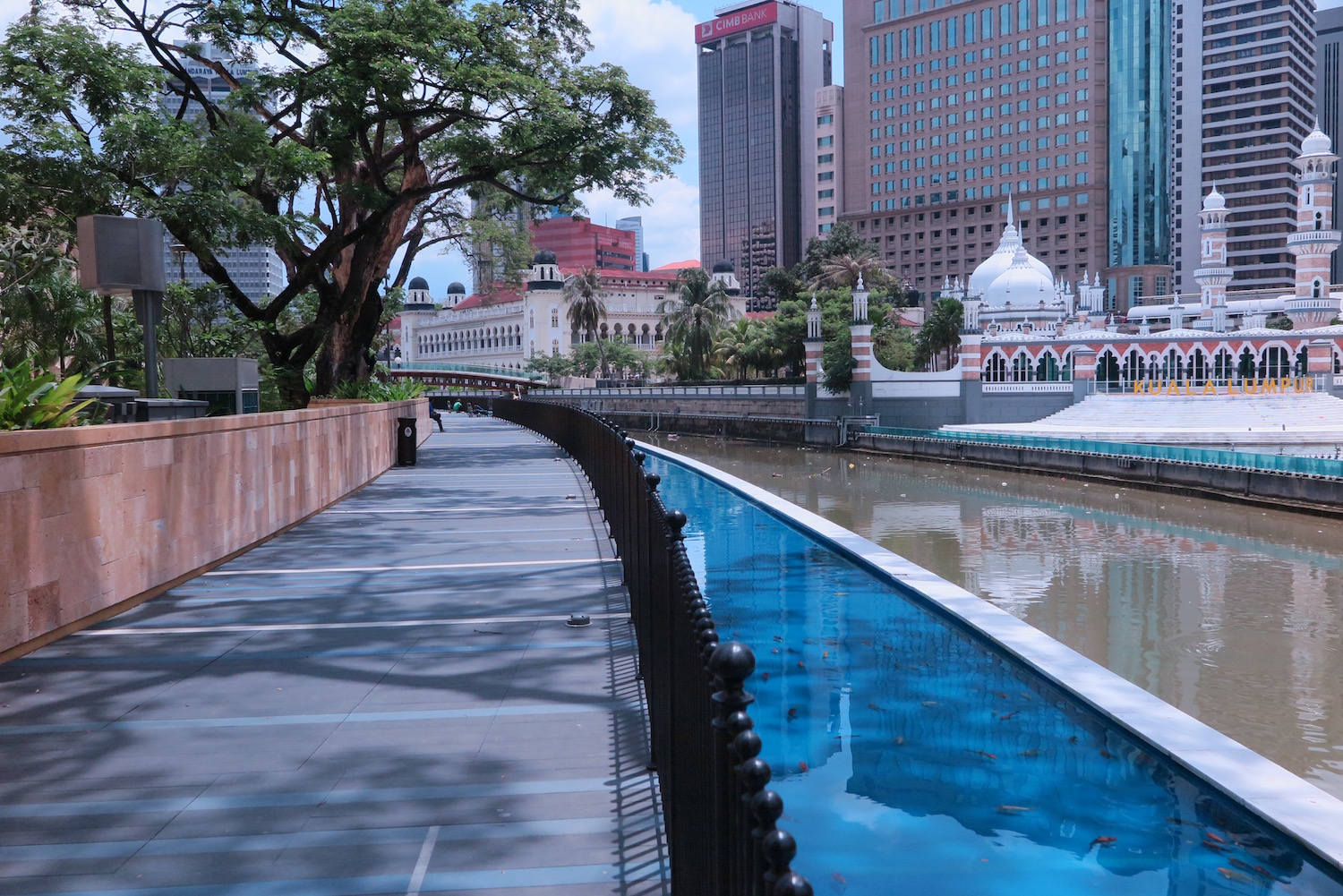 A river restored breathes new life into Kuala Lumpur