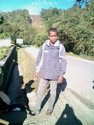 Bandits killed Jean Francois Xavier Razafindraibe, a technician with the Centre ValBio research institute and father of two, during a raid on the village of Ambatolahy outside Ranomafana National Park in Madagascar. Image courtesy of Patricia Wright/CVB.