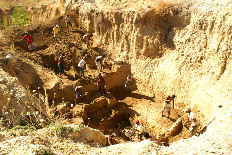 Christmas River dig site in Madagascar. Copyright ZSL