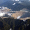 Newmont Mining Corporation's open pit copper-gold mine in Indonesia. Photo by Rhett A. Butler for Mongabay.