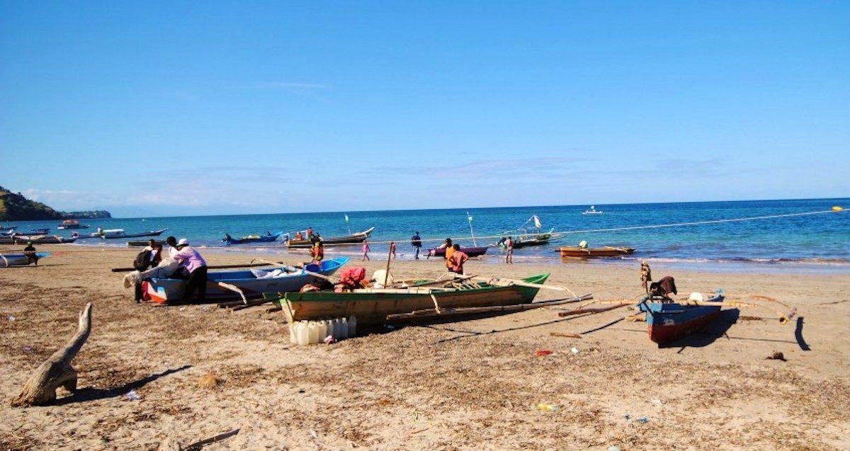Fishing boats in Timor-Leste. Image by Jennifer King/WorldFish.
