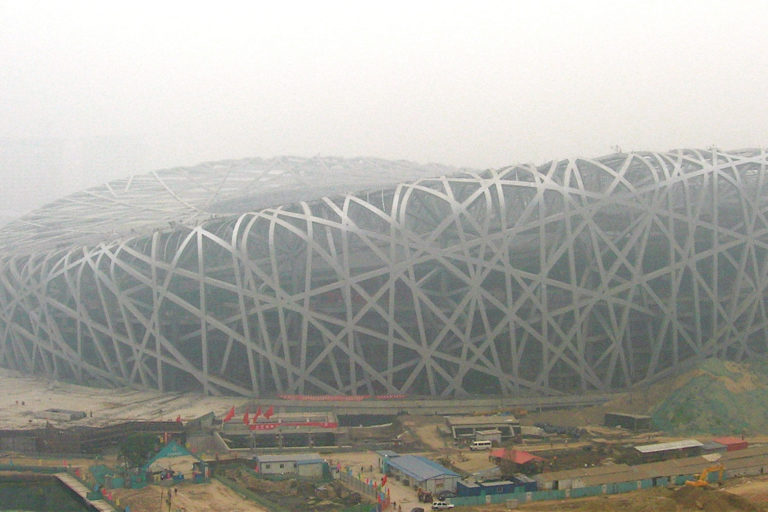 Air pollution in Beijing. Courtesy of the U.S. Department of Energy.