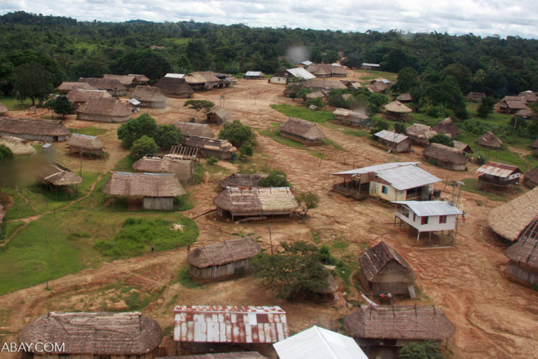 Kwamalasamutu village. Photo by Rhett A. Butler.