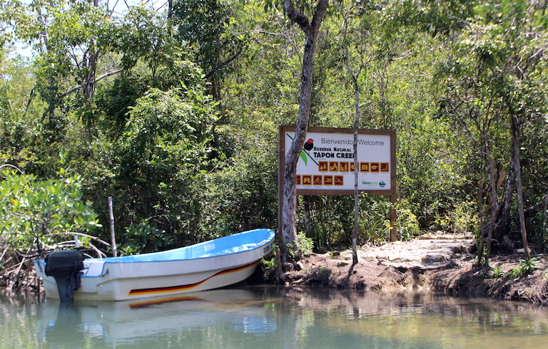 Tapon Creek is one of the 21 Q'eqchi' communities along the Río Sarstún. Image by Anna-Catherine Brigida for Mongabay.