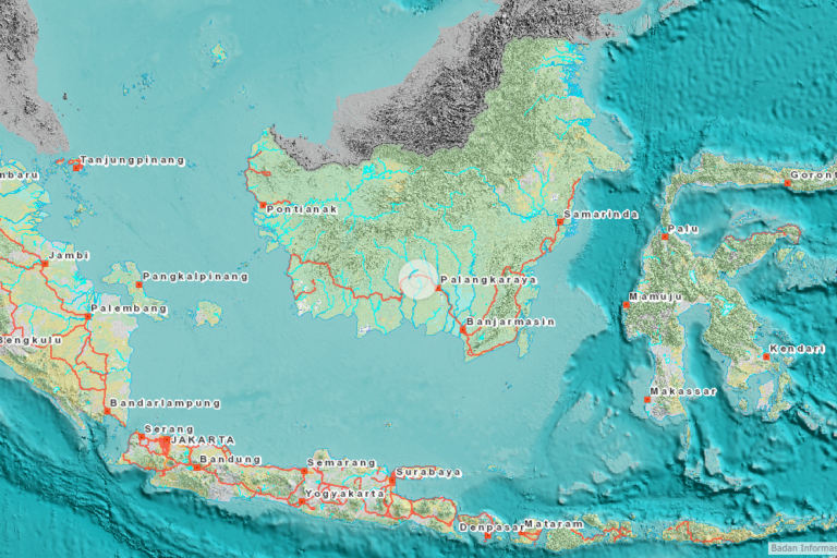 One map to rule them all: Indonesia launches unified land-use chart