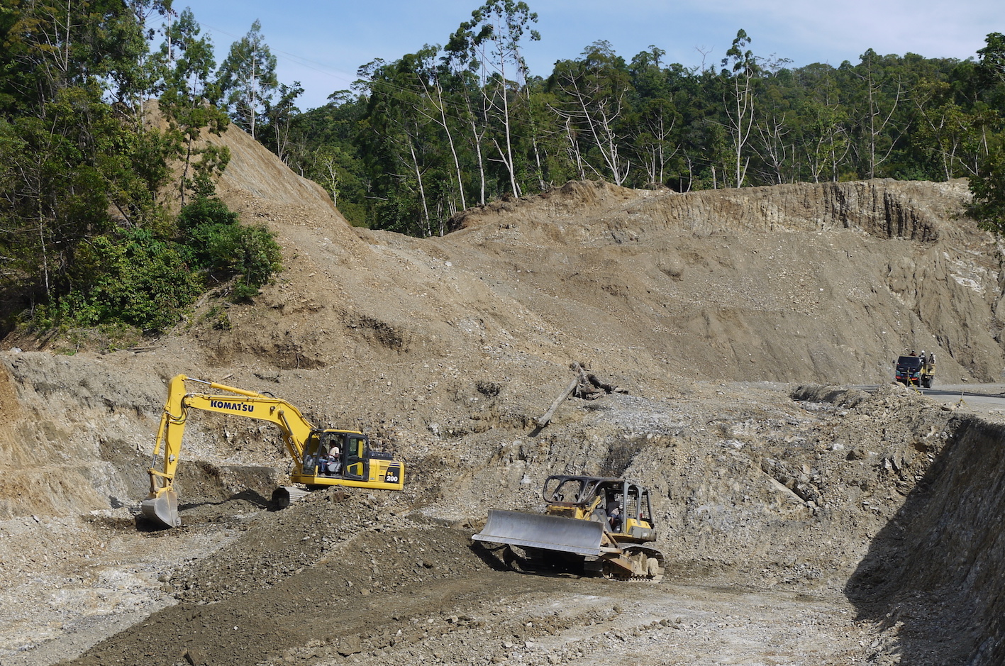 Indonesia attack shines a light on controversial road project