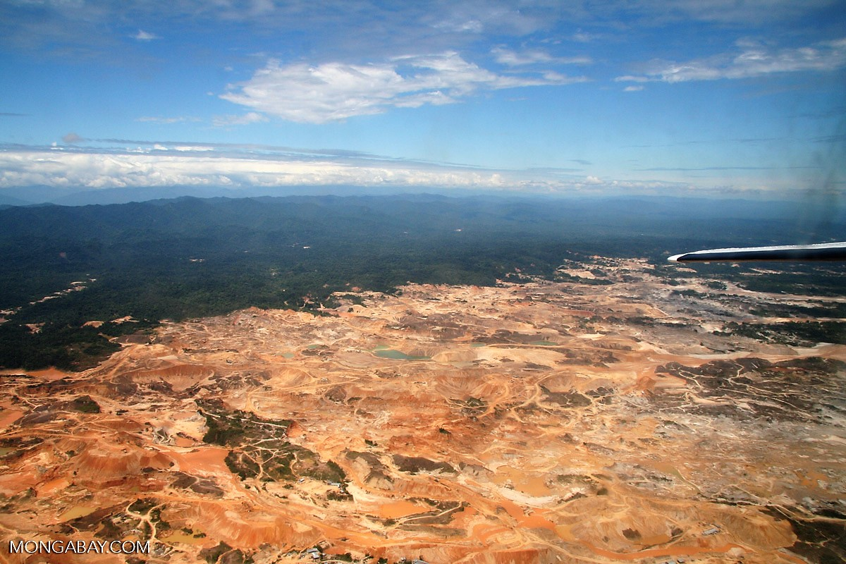 Illegal mining in the Amazon 'not comparable to any other period of