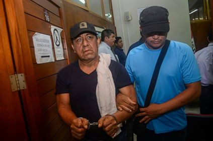 The head of the Regional Directorate of Agriculture of Ucayali, Isaac Huamán Pérez, was arrested during the raid. Image by José León for Diario Ímpetu.