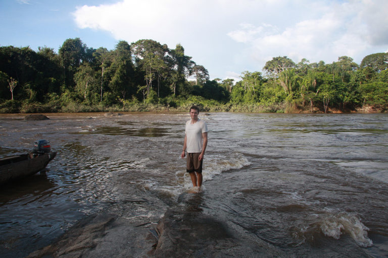 Me in Suriname in 2008.