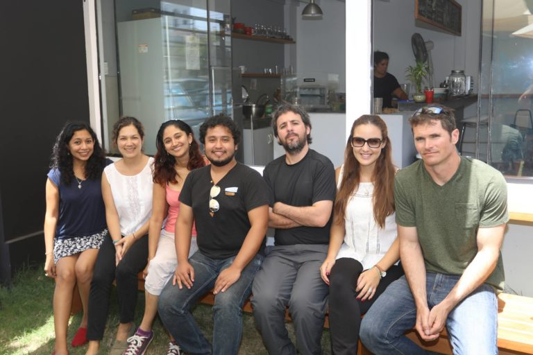 Mongabay-Latam team in July 2017.