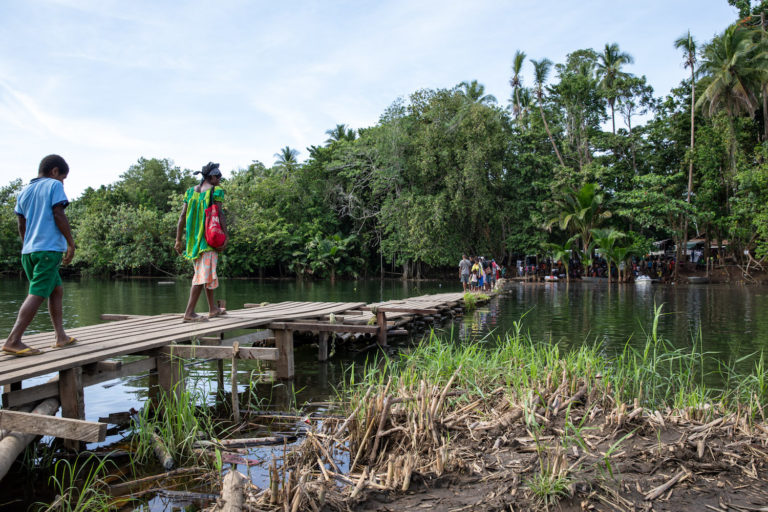 In PNG, a fallen bridge is testament to the chasm in rural development