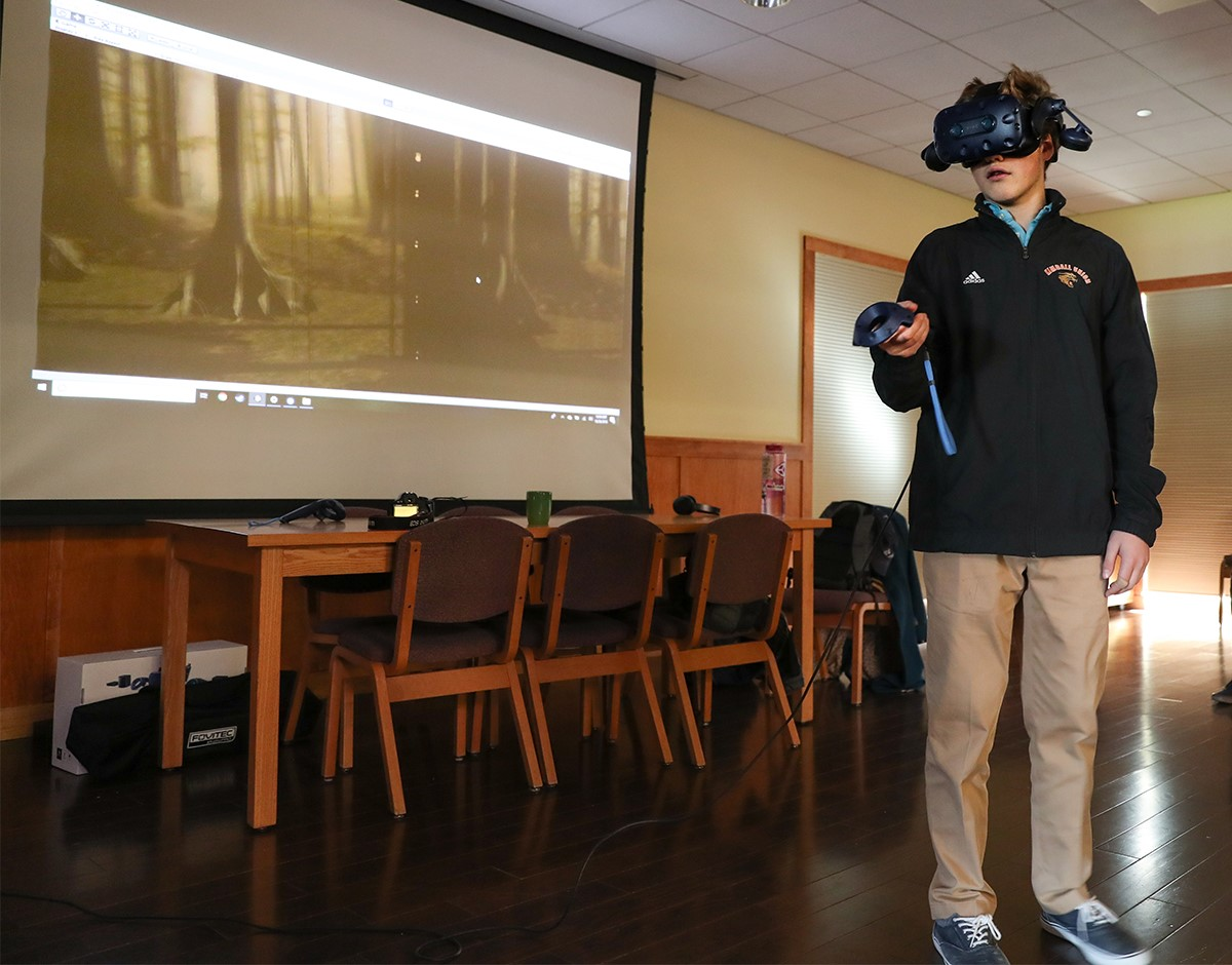 Virtual reality tool gives viewers the vision of a nocturnal primate