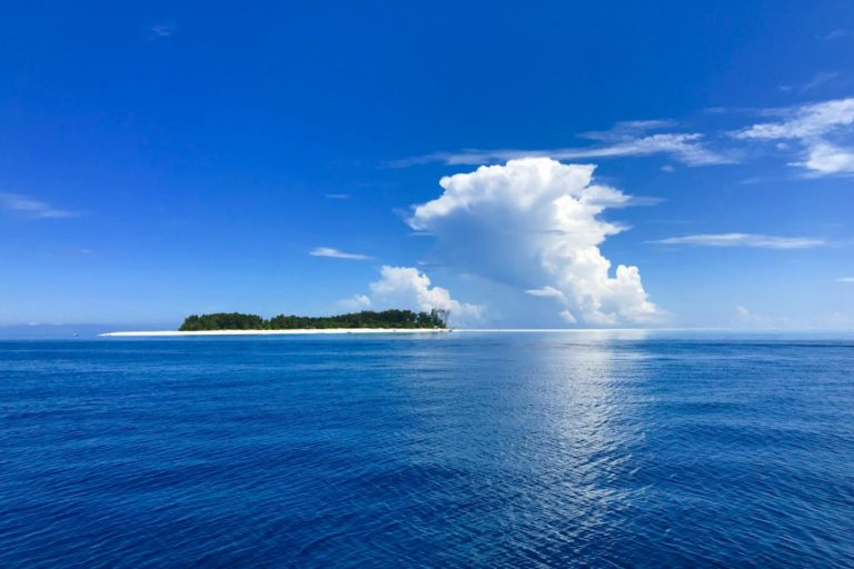 Dive site off Zanzibar