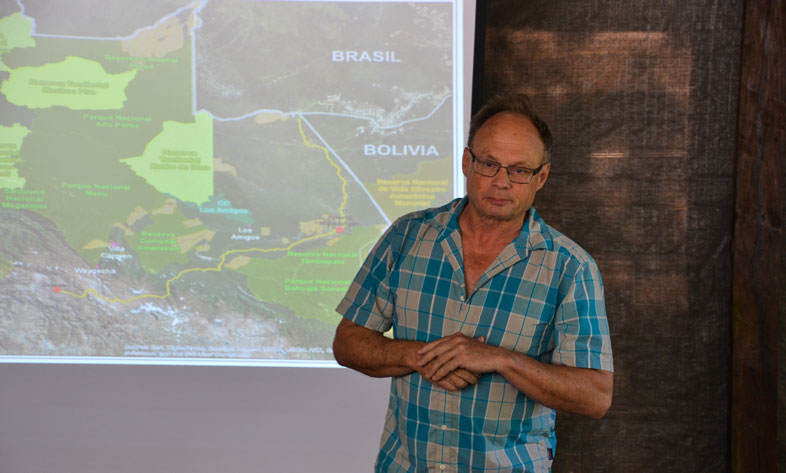 Andes Amazon Fund Executive Director Adrian Forsyth