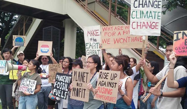 Youth climate strikes sweep Asia ahead of UN Climate Action Summit