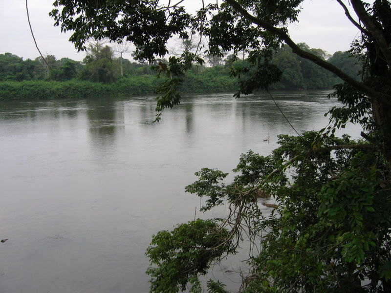 Ngounié River in Mouila, Gabon. Image by Vincent Vaquin via Flickr (CC BY-3.0)