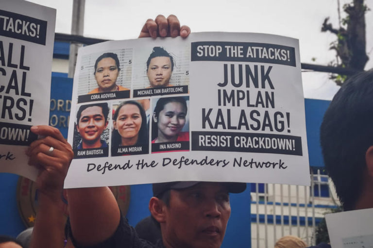 Activists fighting for their lands swept up in Philippines crackdown