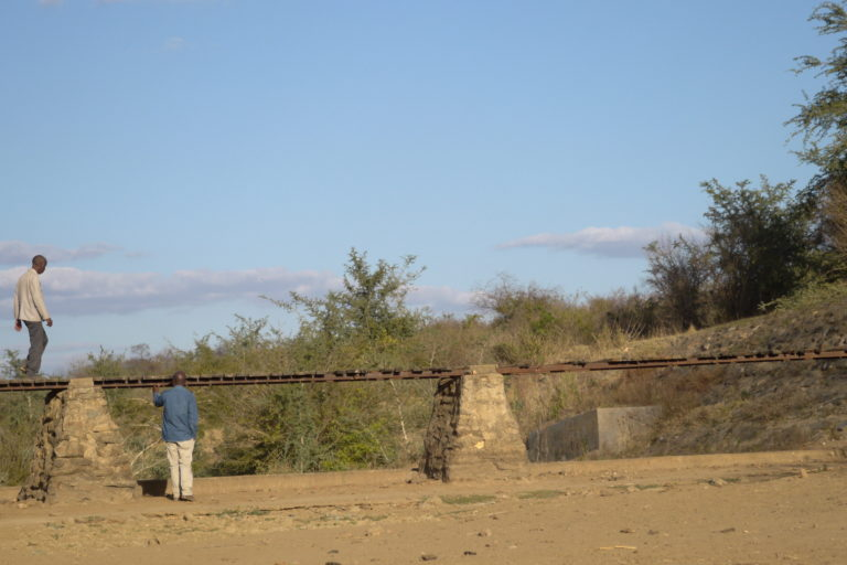 Dry riverbed. Image by Dellane Masiya Mhlanga for Mongabay.