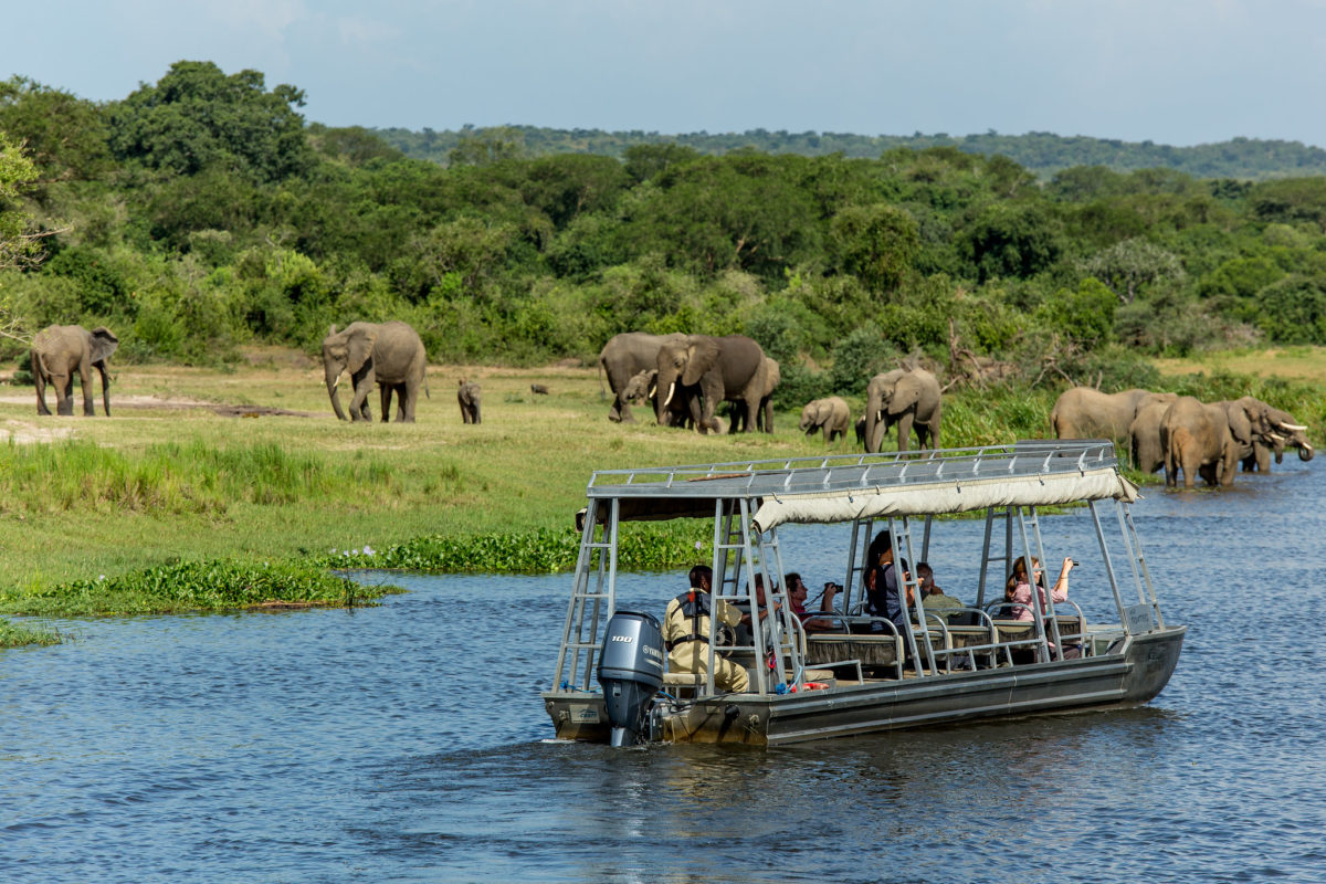 Tourists in Murchison Falls National Park. Image by Justin Raycraft via Flickr (CC BY 2.0)